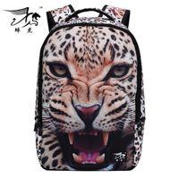 animal backpacks for children - Youth Shoulders Bags D Animal Pattern Fashion Trendy Backpacks For Big Kids Multifunction Big Children Schoolbag mm K1203