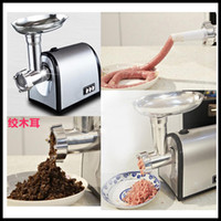 Wholesale Multifunctional Kitchen Household Stainless Steel Electric Meat Grinder Ground Meat Mincing Machine