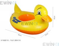 Wholesale x Baby s Inflatable Safety Swim Duck Animals Kids Tube Seat Float Boat Ring