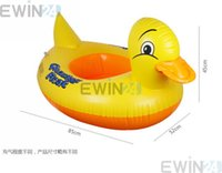Wholesale New Baby s Inflatable Safety Swim Duck Animals Kids Tube Seat Float Boat Ring