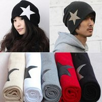 Wholesale Autumn And Winter Fashion Vintage Star Favorite Hat Wool Knitted Fashion Cap Male Fashion Beanies