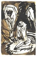 bathtub buy - Ernst Ludwig Kirchner s oil painting for pub Two bathing girls in a bathtub buy high quality reproduction