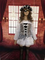 Cheap sexy RB1168 Free shipping Hot Sale Beautiful Unique Boutique Pirate Costume Fancy Costume For Girls