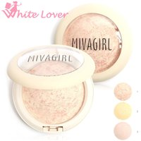 baking powder for face - New Brand Makeup silky feeling for MIVAGIRL colors Baked Pressed Powder Make up Face Beauty g M12