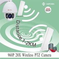 auto tracking ptz ip camera - 20X zoom P MP auto tracking km wireless ptz ip camera support phone view P2P with wireless bridges
