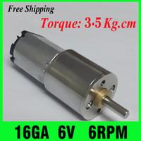 dc mini gear motor - NEW V DC motor RPM Gearmotors Powerful High Torque Gear Box Motor mini cnc motor