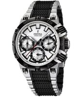 Cheap 2015 New Festina F16775-1 Mens 2014 Chrono Bike Tour De France Black and Silver Rubber Watch
