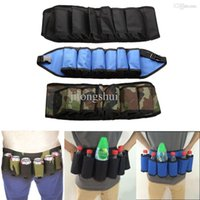beer carriers - Hot Pack Soda Wine Beer Can Belt Carrier Holder Home Party Outdoor High Quality