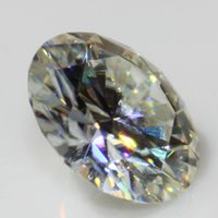 aqua lab - FG Carat H I VVS Test Positive Lab Grown Loose Charles Colvard Moissanite Diamond No Brilliant Scillinating Stone