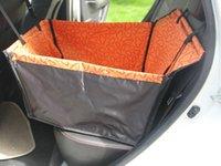 purple car seat covers - hot sale Pet Supplies Pet Dog Car Seat Cover Waterproof Hammock rear single seat brown orange green purple