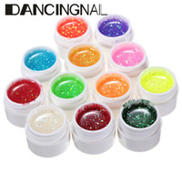 acrylic paint color mixing - Color D Nail Art Painting Drawing Acrylic Mix UV Gel Polish Kit Glitter Dust Powder DIY Make Up Nails Beauty Decoration Tool