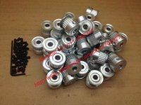 Wholesale teeth GT2 Timing Pulley Bore mm fit for width mm of GT Belt D Printer Freeshipping