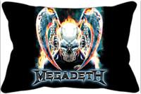 band megadeth - Megadeth band print decorative pillowcases cm peach skin
