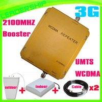 3g signal booster - Hot Sell G booster WCDMA980 Mhz G mobile phone signal repeater mhz G booster RF repeater G mhz panel antenna
