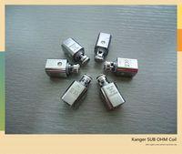 best pack brand - 1 clone pack kanger subtank nano electronic cigarette dry herb vaporizer coil come from best electronic cigarette brand China