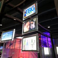 al por mayor la electrónica de imagen-Publicidad Marco Fotográfico LED Electrónico Display Sign