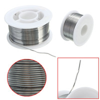 Wholesale New g mm Tin Lead Solder Wire Rosin Core Soldering Flux Reel Tube Welding Wires Safety order lt no track