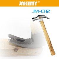 Wholesale Deko US JM CH2 beech wood hammer wood hammer claw hammer inch