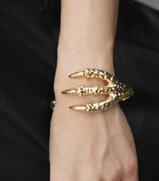 bangles the band - Bracelets Bangles Loom Bands High end Minimalist Selling Exquisite Bracelet Beautifully Retro Talons The Eagle Grasping Personalized B509