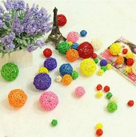 Wholesale Rattan Ball cm Holiday Event Party Supplies Wedding Decoration Ornament Craft Ball