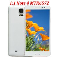 android phone gsm - 5 inch NOTE Android Smartphones Dual Core MTK6572 MB GB WiFi Note4 N9100 Cheap G GSM Micro Sim Unlocked Smart Cell Phone