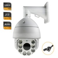 Wholesale Full HD P Auto Tracking IP High Speed Dome Network Security PTZ IR Camera X ZOOM
