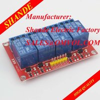 Cheap 4 Channel 5V,12V or 24V Relay Module for SCM Household Appliance Control max.10A