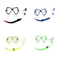 Wholesale Semi High quality Dry Scuba Diving Snorkel Soft nontoxic silicone mouthpiece Breathing Tube Swimming Diving Snorkeling Equipment