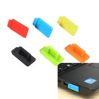 best quality pc laptop - Best Price Colorful Rubber Silicon Protective AntiI Dust USB Plug Cover Stopper For Computer Laptop Super Quality