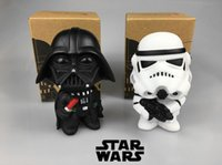 Wholesale Star Wars cm set Q Style toy Darth Vader STORM TROOPER Action Figure Model Toy Come with Retail Box