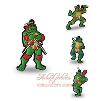 bags pendants jewellery - Hot selling Beautiful New Arrival TMNT Cartoon Pendant is suitable for bag the key chain mobile phone Pendant DIY Jewellery Making PVC