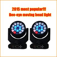 beam lighting disco - 19x15w led bee eyes moving head light rgbw in1 osram led source wash beam moving head dmx stage dj disco lighting