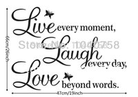 ar love - ome Decor Wall Stickers Live Laugh Love Wall Decals Quotes Paper Butterfly Decoration Wall Stickers Quotes and Sayings Home Decor Wall Ar