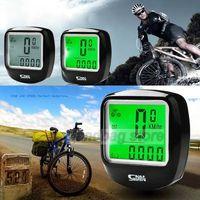 Wholesale 2015 Hot Sales LED Display Cycling Bicycle Bike Computer Odometer Speedometer SV005109