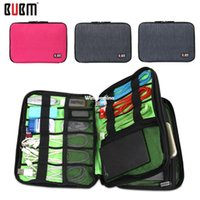 Wholesale 1509 Waterproof Double Layer BUBM Travel Storage Bag Electronic Accessories Tool Pouch Organizer Hard Drive Pen Drive Data Cable Bag