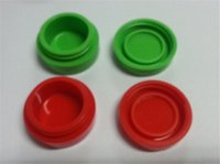 Wholesale non stick silicone jars dab wax vaporizer oil container ECP026