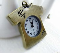 antique clothing shop - FG Free Shopping Pocket watch antique fashion High Quality cartoon alloy clothes pocket watch