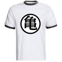 beat man - Cheap T SHIRT The Dragon Ball Z T Shirt Mens Training To Beat Goku Krillin Cotton Casual Fashion T shirt Tee Camiseta Clothing