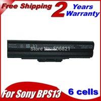 Wholesale Powerful Without CD VGP BPS13 Laptop Battery For Sony VAIO VGN CS190JTP VGN CS190JTQ VGN CS190JTR VGN CS21S P VGN CS220DP CS220DQ CS220DT