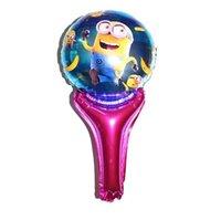 Cheap New arrive 50pcs lot wholesales peppa pig cartoon hand Foil balloon Birthday party decoration balloon Hot sale Free shipping