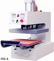 Wholesale X4 m Heat Transfer Machine Pneumatic Flat V Press Print Fabric Nonwoven Crystal Cotton Nylon Terylene Glass Metal Ceramic Wood