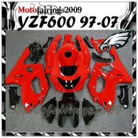 Wholesale red black fairing For yamaha YZF600R E27 Fairing YZF600R YZF R