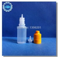plastic bottles and containers - Free Fedex TNT PE ML dropper bottle plastic bottles child resist and tamper evident cap small plastic containers