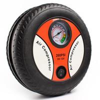Wholesale High Quality PSI DC12V Mini Tyre Tire Air Inflator Air Compressor Portable Electric Car Auto Air Pump HA10334