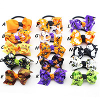 baby pumpkin patterns - baby girl Halloween style cute hairbands kids girl pumpkin spider witch s hat pattern children Hair Accessories girl headwear
