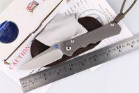 Wholesale Wild Boar large Sebenza D2 Blade titanium Material Chris Reeve folding knife camping hunting pocket knives EDC outdoors tools
