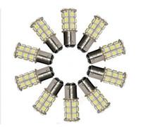 benz tail light - 27 SMD5050 LED BA15S P21W T25 Car Reverse Turn Signal Rear Tail Brake Light Bulb Warm White