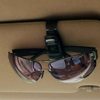 Wholesale Hot Sale ABS Portable Clips Car Vehicle Sun Visor Sunglasses Eyeglasses multifunctional Glasses Ticket Holder Clip