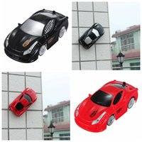 Wholesale Brand New Mini Wall Floor Climbing Climber RC Racer Remote Control Racing Car Kid Gift Toy
