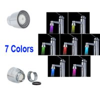 Wholesale Glow LED Light Water Stream Faucet Tap Automatic Colors Change